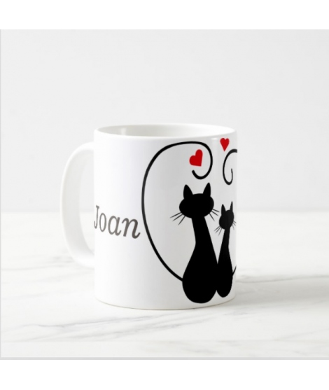 Taza Gatos Enamorados