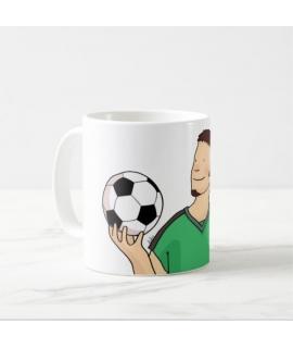 Taza futbolista